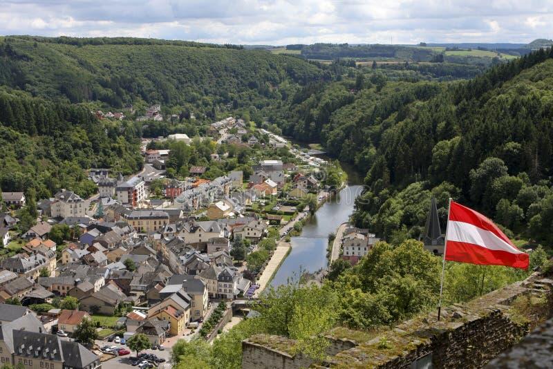 Vianden en Luxemburgo imagen de archivo libre de regalías