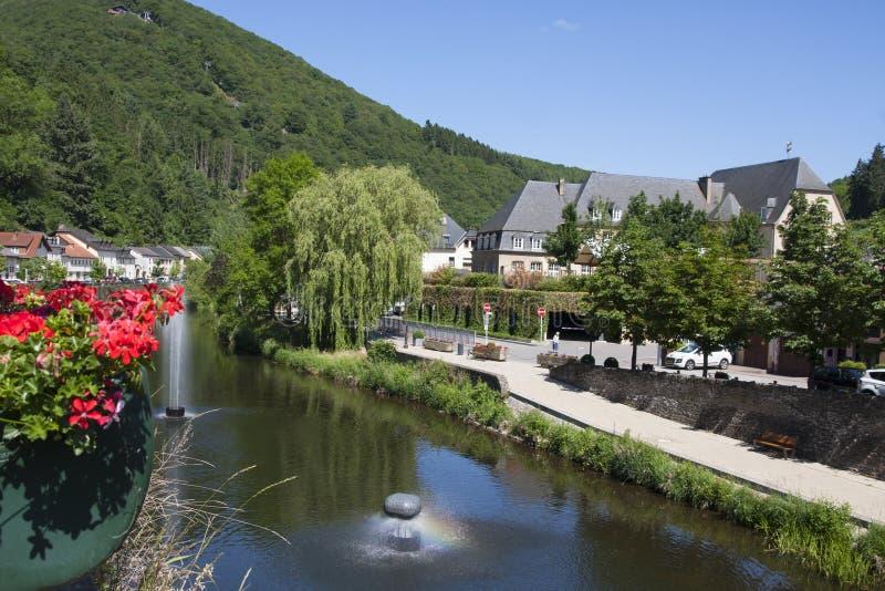 Vianden, Luxemburg, Europa lizenzfreies stockbild