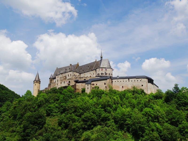 Vianden-Schloss stockfoto