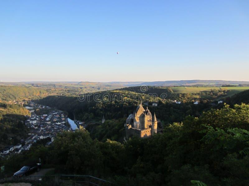 Vianden Schloss lizenzfreies stockfoto
