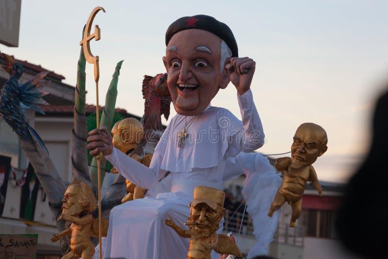 Viareggio καρναβάλι, Τοσκάνη, Ιταλία στοκ φωτογραφίες με δικαίωμα ελεύθερης χρήσης