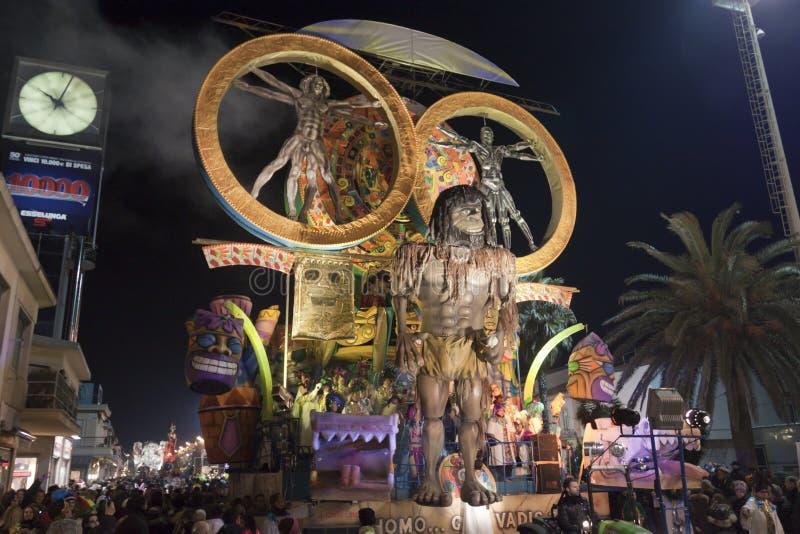 Viareggio Carnival stock photography