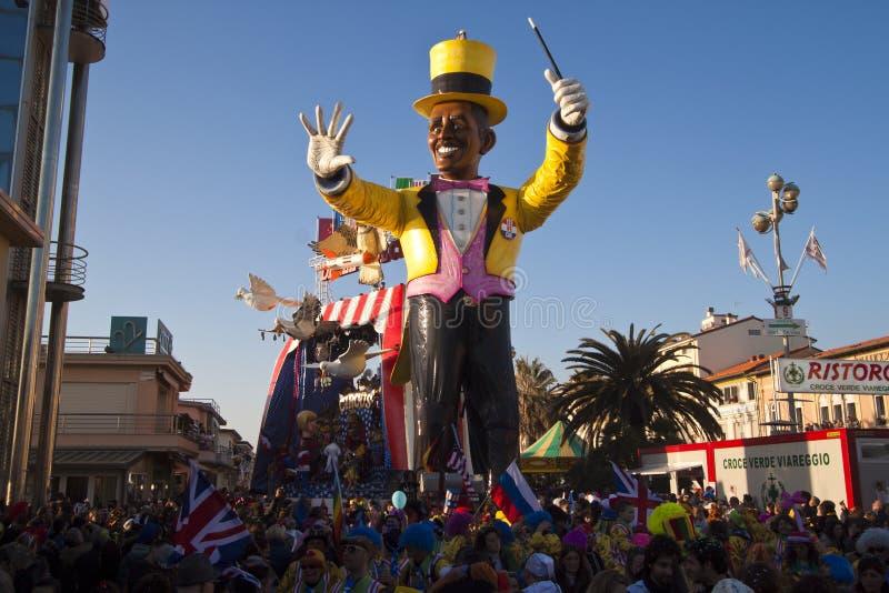 Viareggio Carnival royalty free stock photography