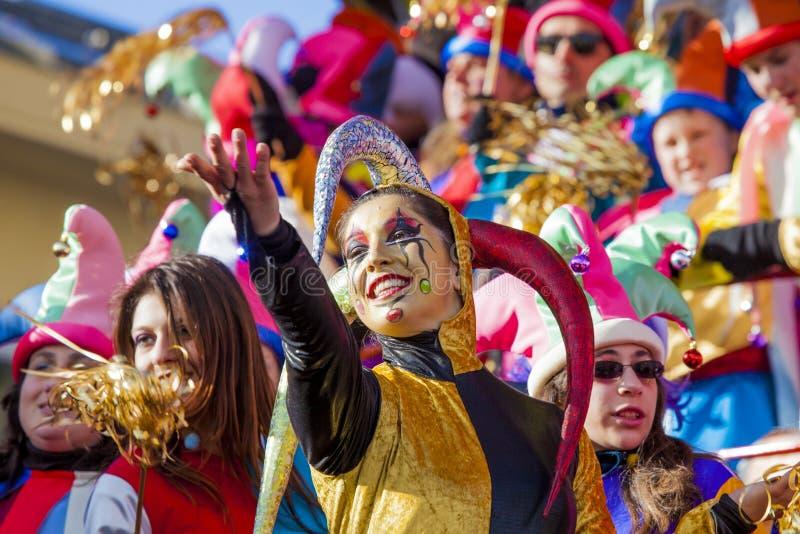 Karneval von Viareggio stockbilder