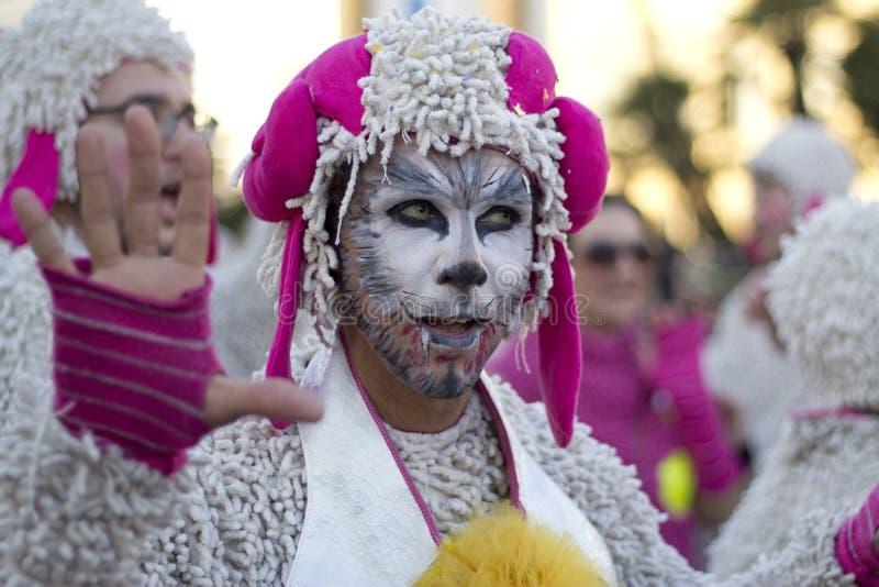 Viareggios Carnival royalty free stock photo