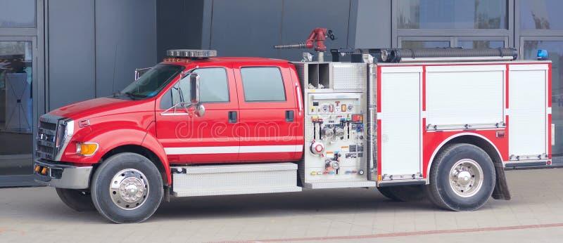 Viatura de incêndio imagens de stock