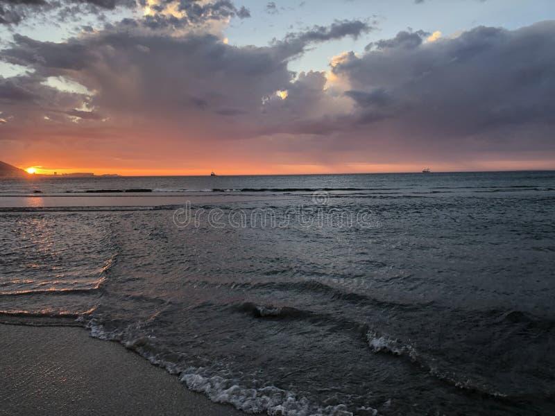 Vibrações da praia imagem de stock