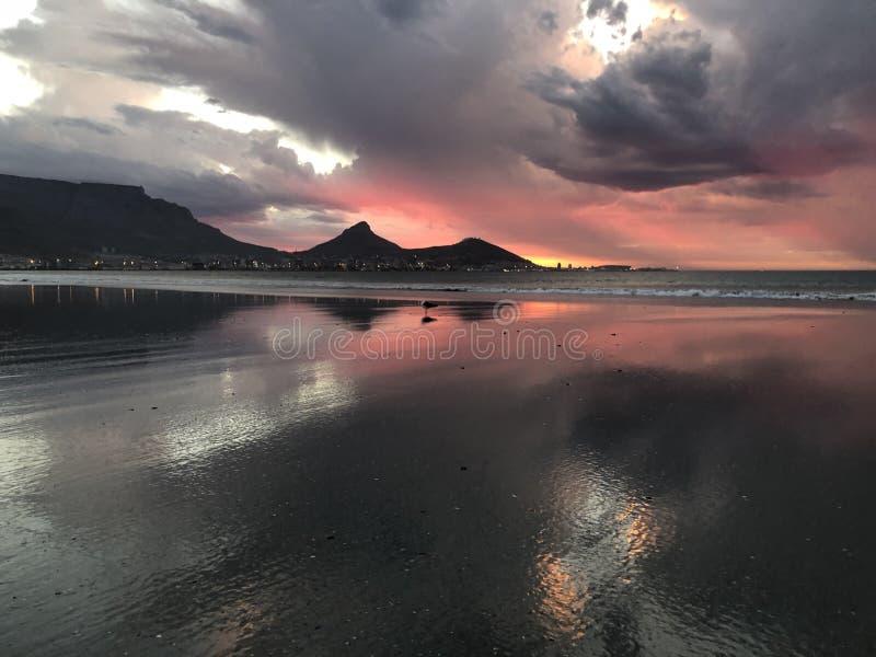 Vibrações da praia foto de stock