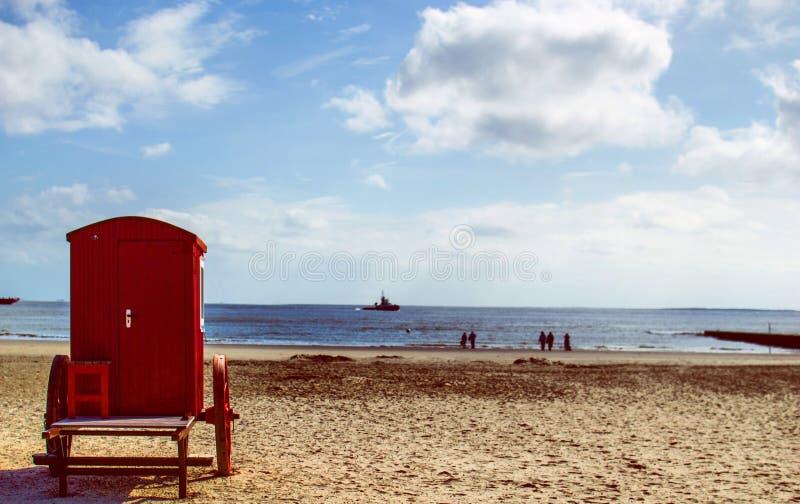 Vibrações da praia foto de stock royalty free