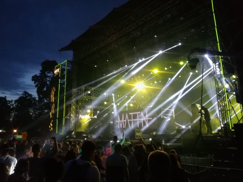 Vibrações do festival somente! imagens de stock royalty free