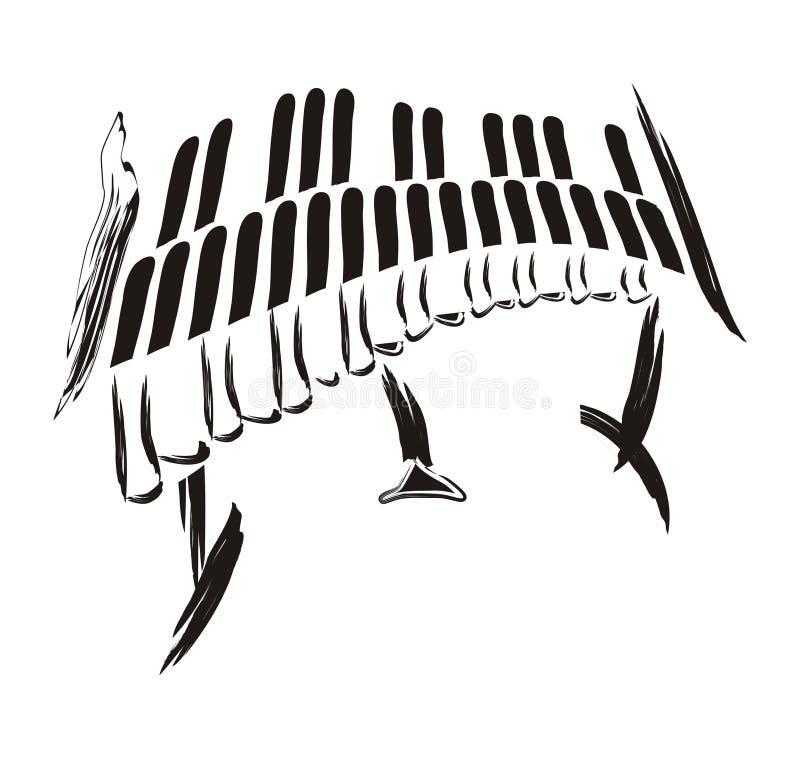 Vibrafoon stock illustratie