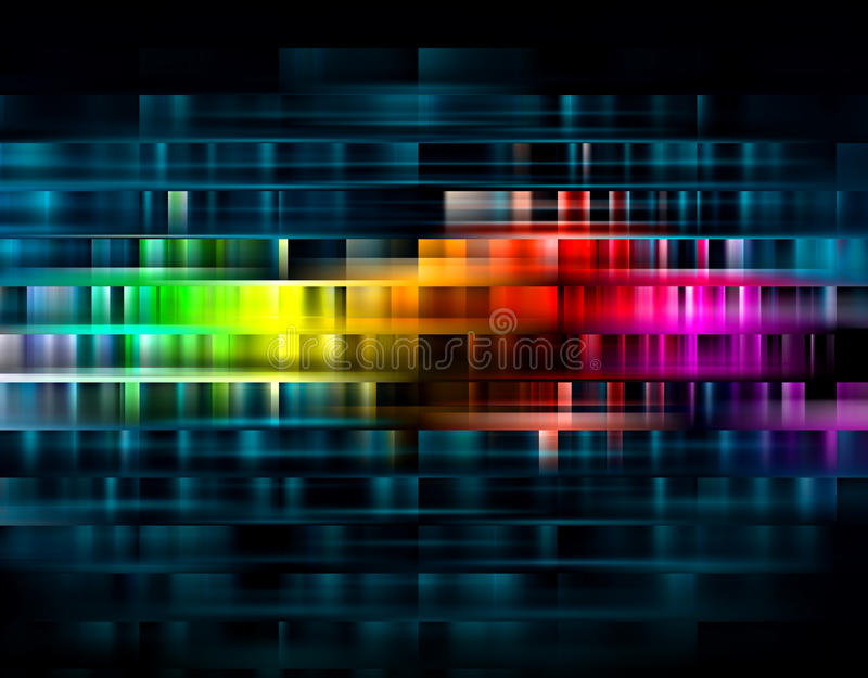 Vibrant abstract background stock image