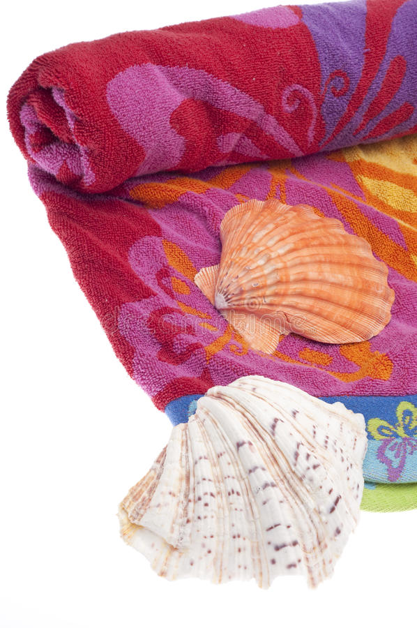 Download Vibrant Beach Towel stock photo. Image of isolated, colorful - 18633136