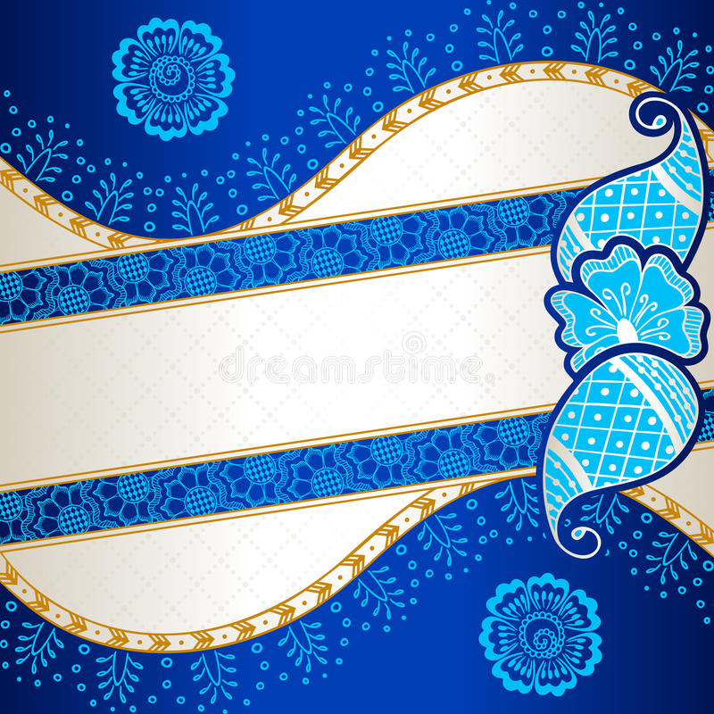 henna inspired banners borders - photo #39