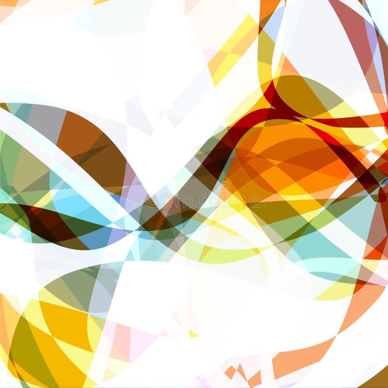 Vibrant colorful background royalty free illustration