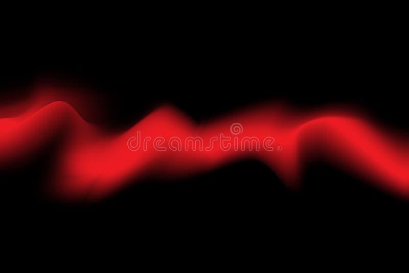 Vibrant cool red spectrum background wave gradient background with mesh tool. Vibrant cool blue and black background Wave background, aurora sky background at vector illustration