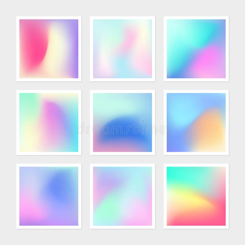 Vibrant Gradient Vector Texture royalty free illustration