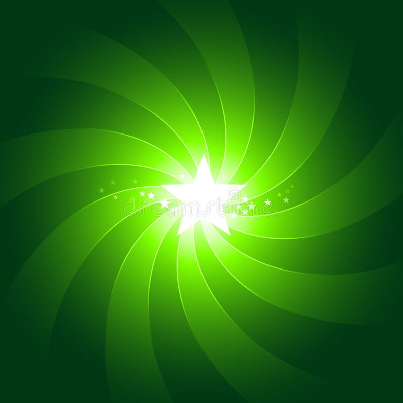 Download Vibrant Green Light Burst Background With Shiningc Stock Vector - Image: 11300648
