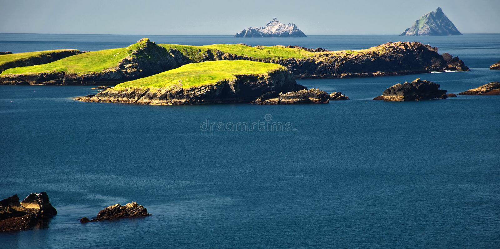 Download Vibrant Landscape And Seacape West Ireland Stock Photo - Image: 13330386