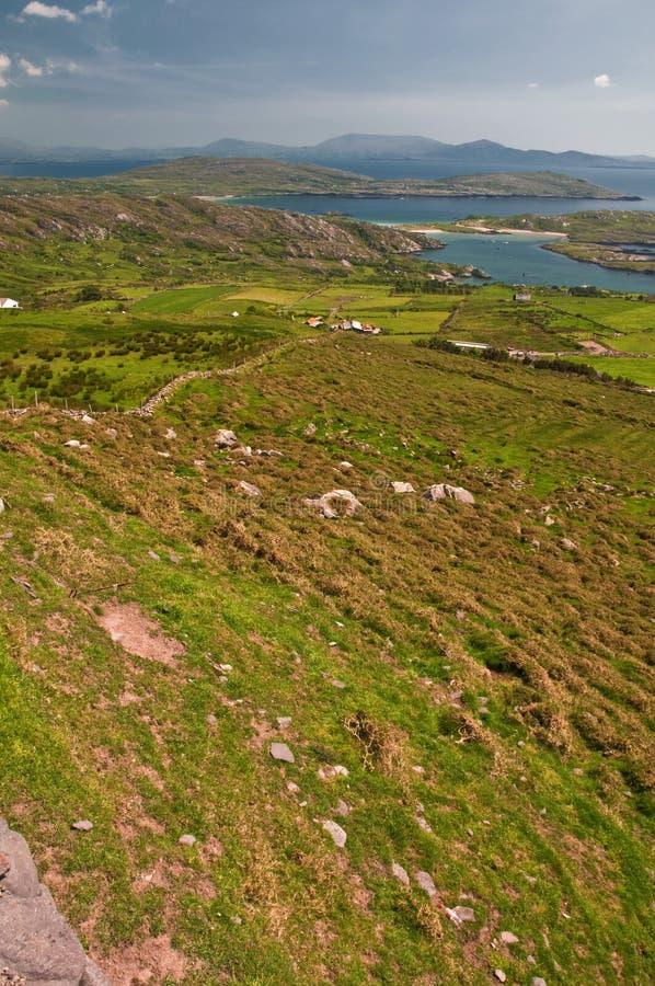 Download Vibrant Landscape And Seascape West Ireland Stock Image - Image: 13330445