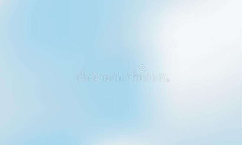 Vibrant light blue gradient background. Style 80s - 90s. Colorful texture in pastel, neon color. royalty free illustration