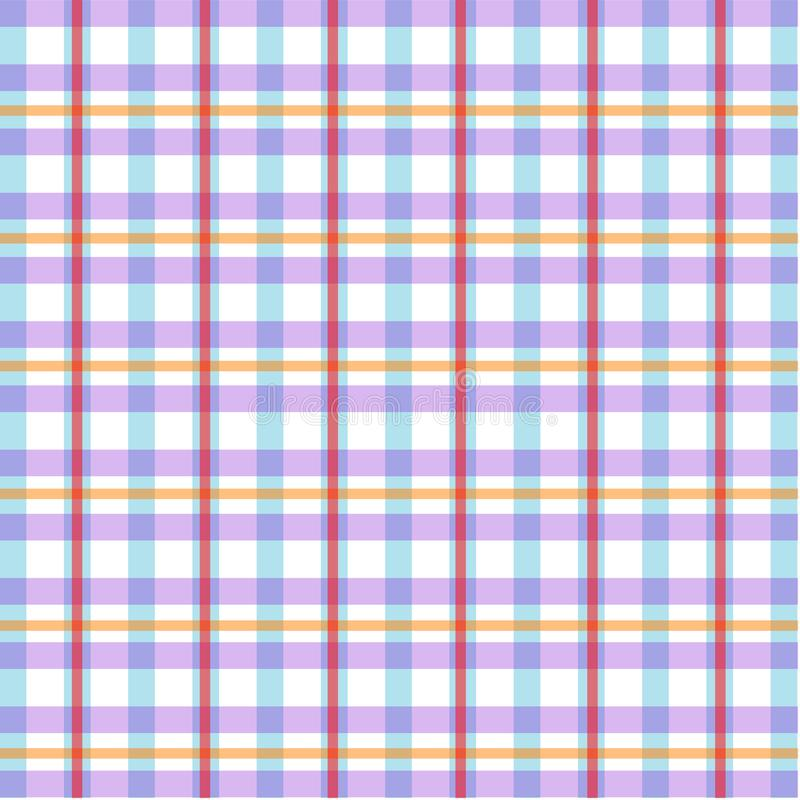Vibrant stylish fabric pattern texture royalty free illustration