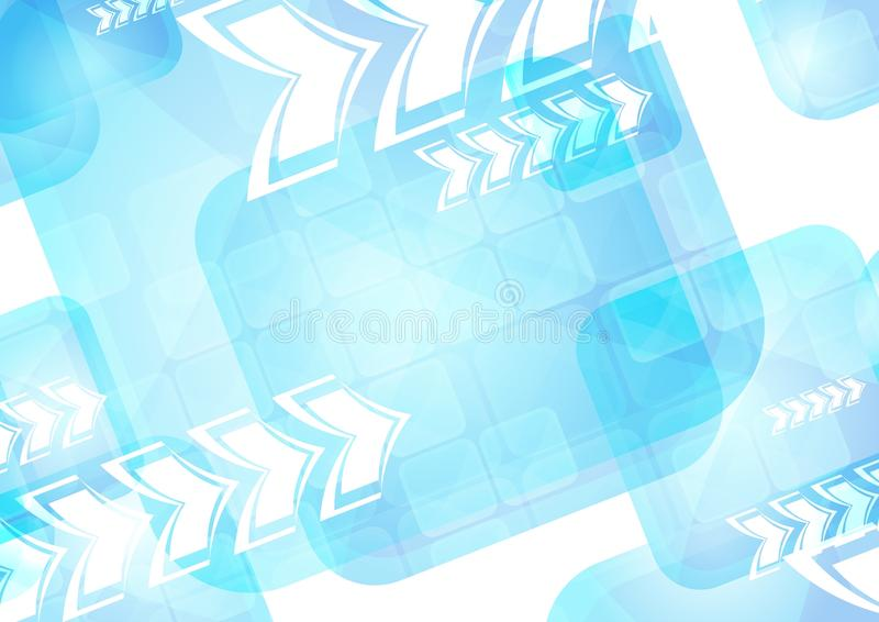 Vibrant Technical Backdrop Stock Photo