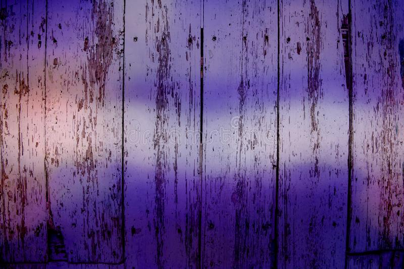 Ultra violet wooden grungy panels, background royalty free stock images