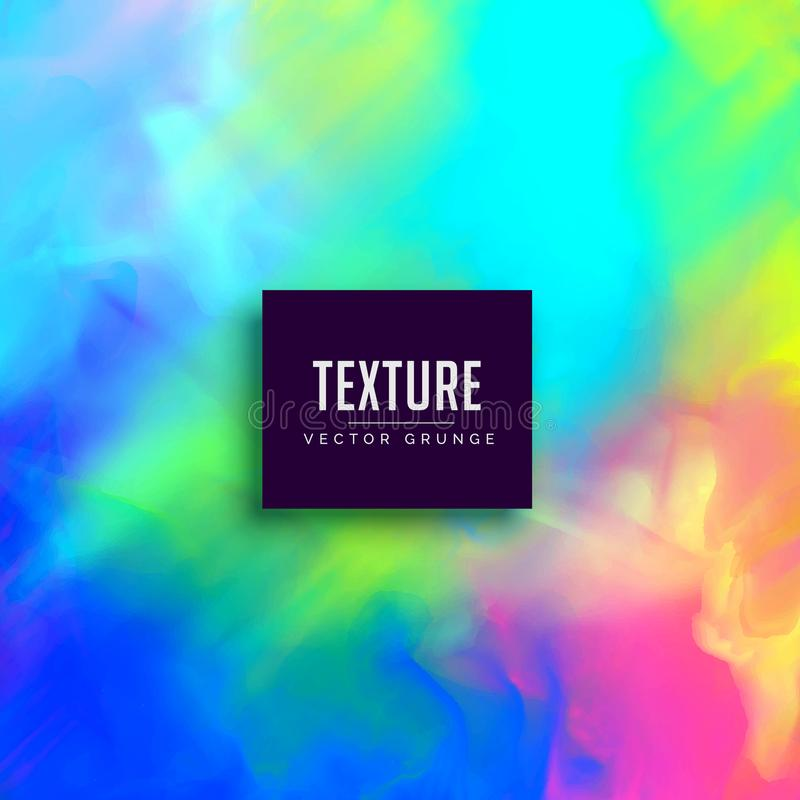 Vibrant watercolor colorful texture background. Illustration stock illustration