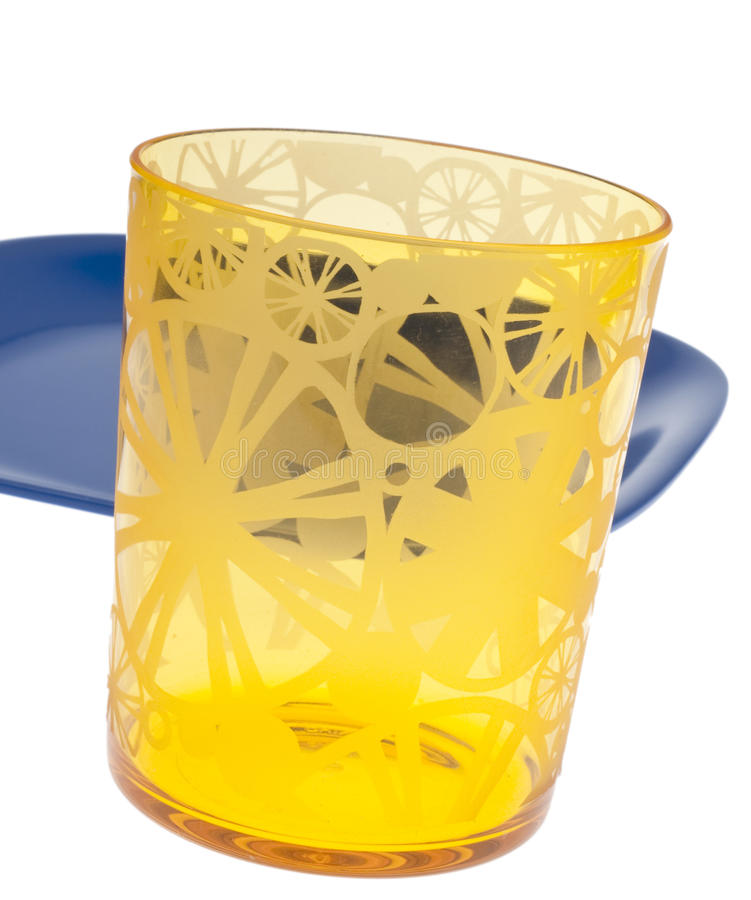 Download Vibrant Yellow Glass stock image. Image of yellow, glass - 18633261