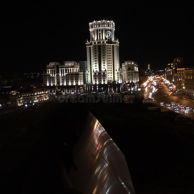 Vibraphone de Moscou photo stock