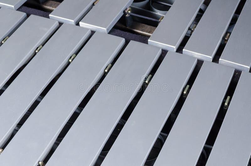 Vibraphone keyboard royalty free stock photography