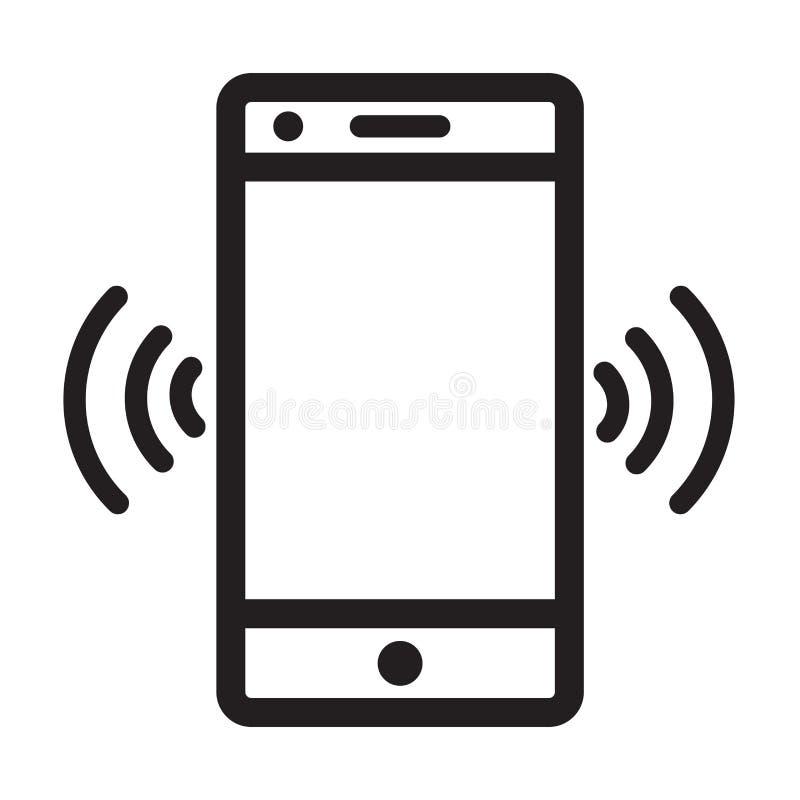 Free Vibrate Cellphone Logo Icon Vector Stock Photography - 150539982