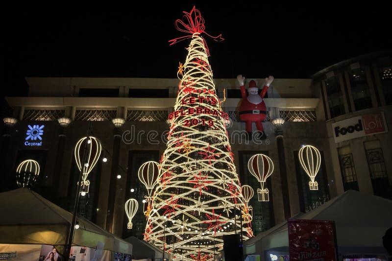 Vibrazioni festive di Natale fotografia stock libera da diritti