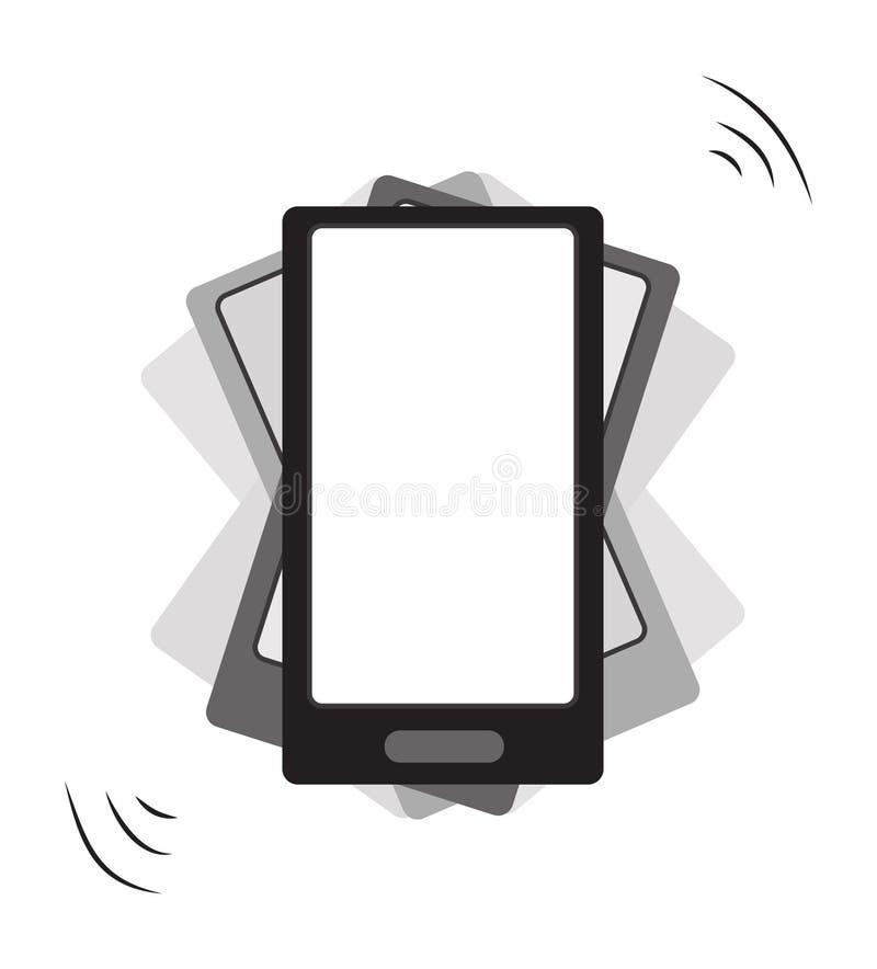 Vibre o smartphone ilustração royalty free