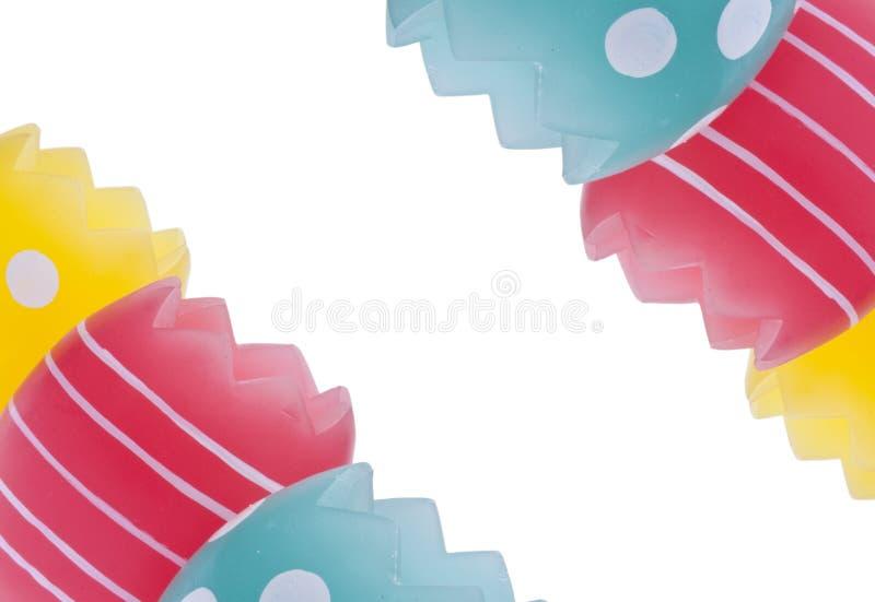 vibrerande kanteaster ägg arkivbild
