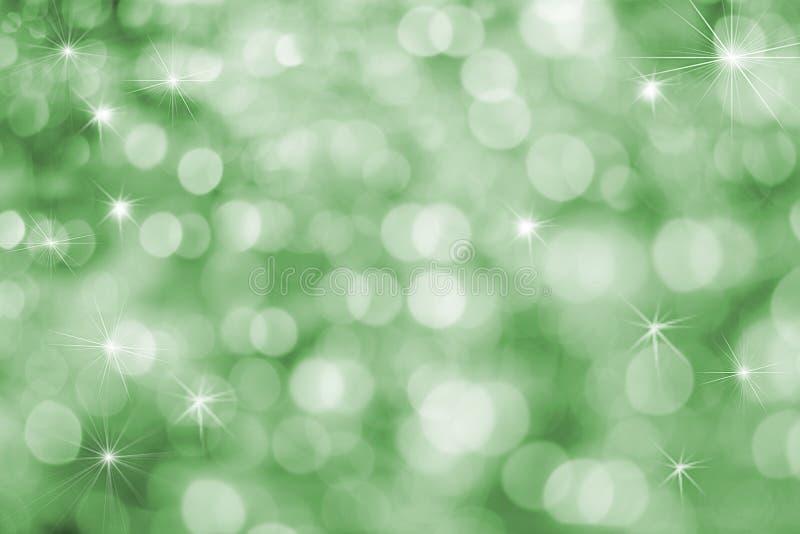 vibrerande rolig grön ferie för bakgrund