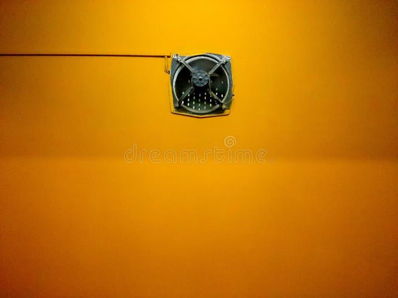 Vibrierender Abluftventilator stockbild
