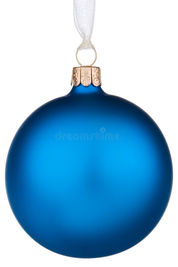Vibrierender blauer Weihnachtsflitter lizenzfreie stockfotografie