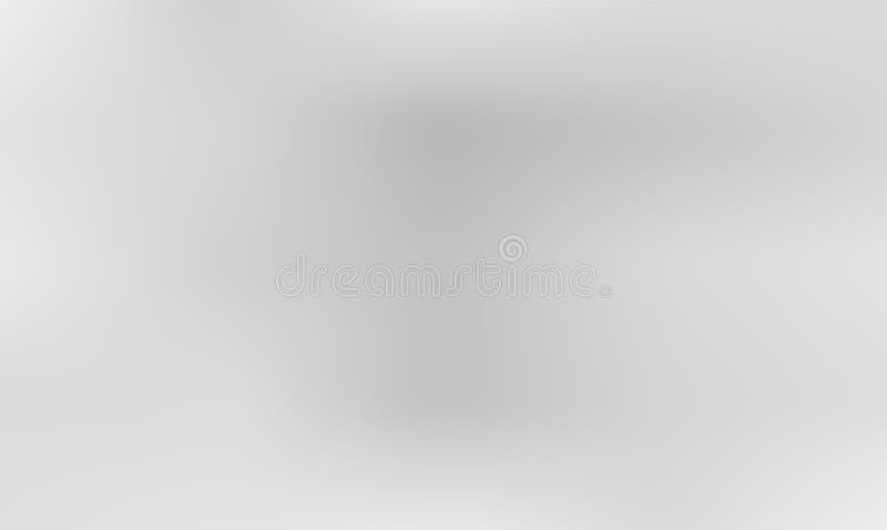 Vibrierender Gray Trendy Gradient Background Defocused weicher unscharfer Hintergrund vektor abbildung