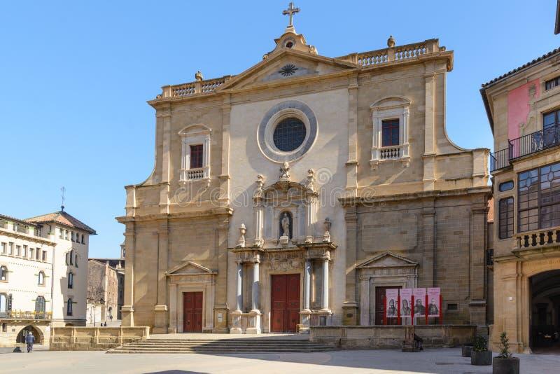 Vic καθεδρικός ναός επίσημα ο καθεδρικός ναός του ST Peter ο απόστολος καταλανικά: Catedral de Sant Pere Apಠstol, είναι Ρωμα στοκ φωτογραφία με δικαίωμα ελεύθερης χρήσης