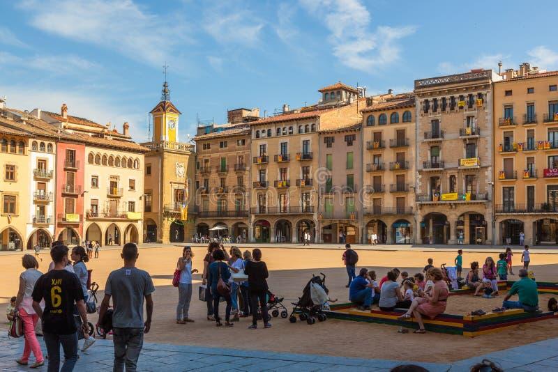 Vic, Cataluña, España foto de archivo