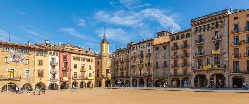 Vic, Cataluña, España imagen de archivo
