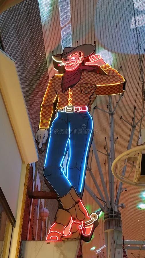 Vic der Cowboy stockfoto