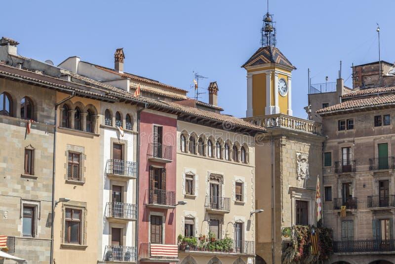 Vic, Katalonien, Spanien lizenzfreie stockfotos