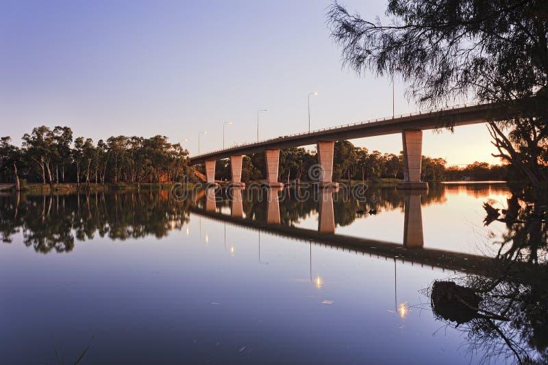 VIC Murray Bridge Mildura Rise photos libres de droits