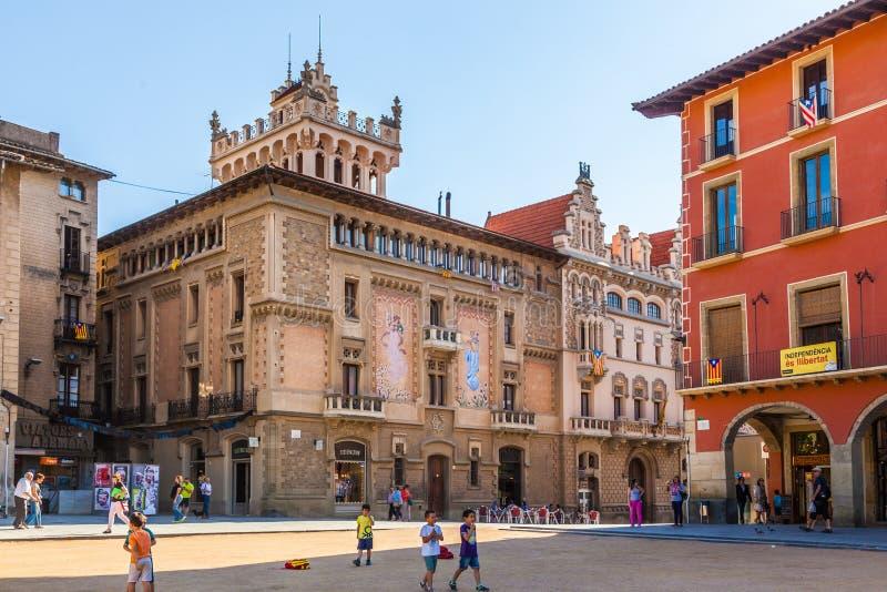 Vic, Spanien stockbild