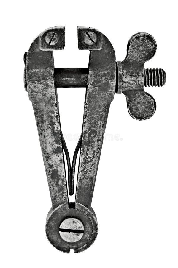 Download Vice Della Mano Dell'annata Fotografia Stock - Immagine di handcraft, hardware: 7311378