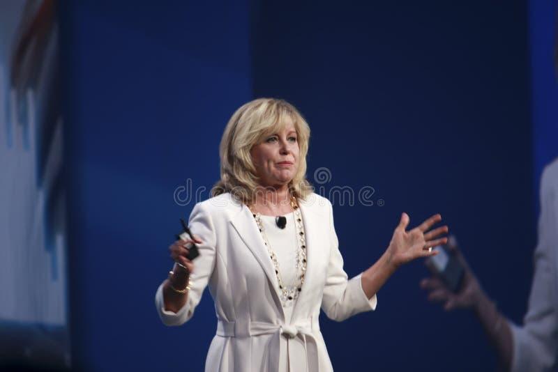 Vice-président Diane Bryant d'Intel photo libre de droits
