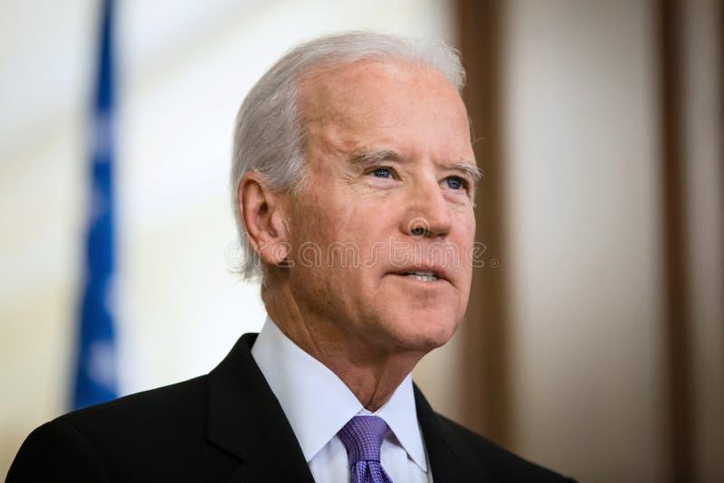 Vice President of USA Joe Biden stock image
